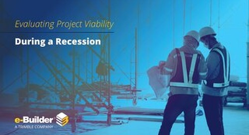 Evaluating Project Viability During a Recession