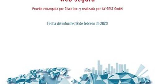 Prueba encargada por Cisco Inc. y realizada por AV-TEST GmbH