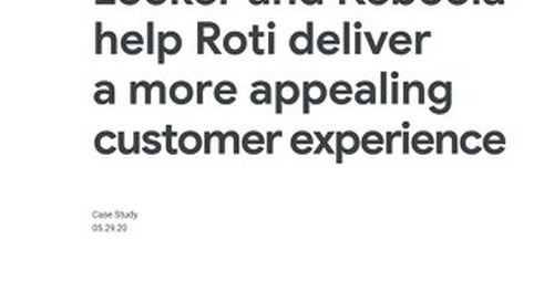 Looker and Keboola help Roti deliver a more appealing customer experience