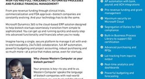 Microsoft Dynamics 365 for Biotech