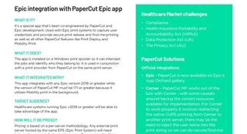 PaperCut Epic-EMR Integration