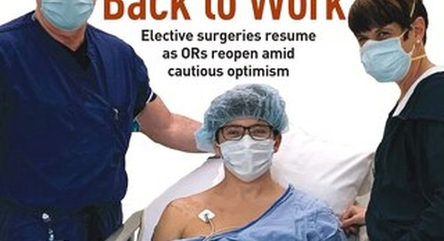 Back To Work - June 2020 - Subscribe to Outpatient Surgery Magazine