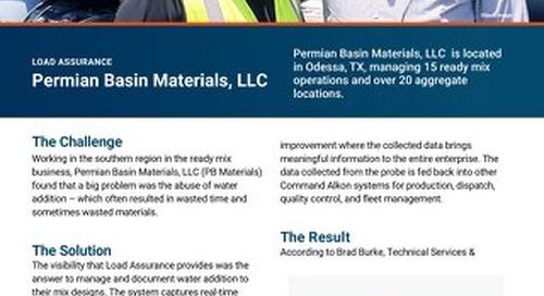 Permian Basin Materials, LLC COMMANDassurance Case Study