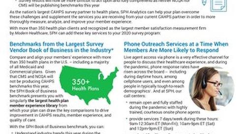 Flyer - 2020 CAHPS Enhancement Services