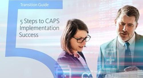 5 Steps to CAPS Implementation Success