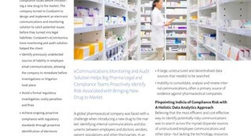 Big Pharma: Catching Potential Risks before the Regulators Do_UK