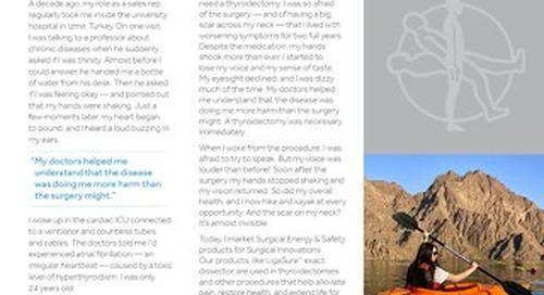 Patient Story: Esin Atagunduz