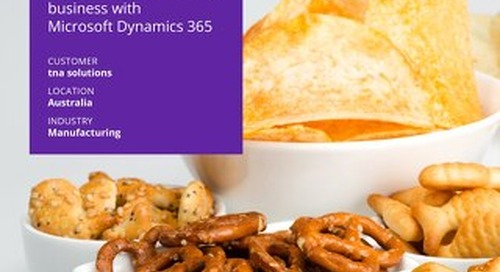 tna solutions transforms business with Dynamics 365