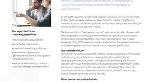 Payment Method Development Solution Brochure