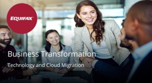 EFX Canada Business Transformation overview
