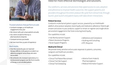 Pharma and Life Sciences Solutions Overview
