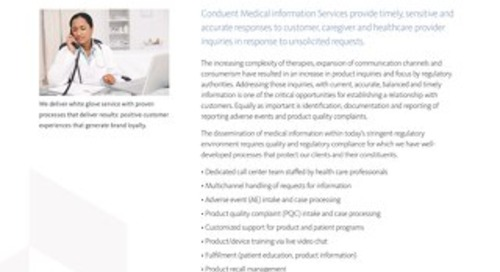 Medical Information Solutions Overview