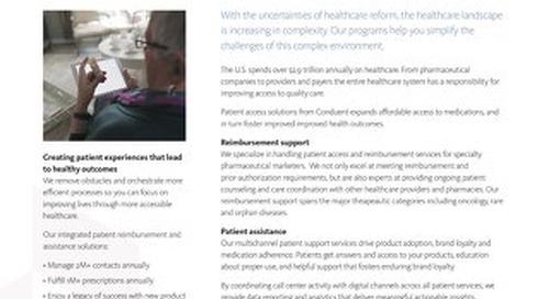Patient Reimbursement Solutions Overview