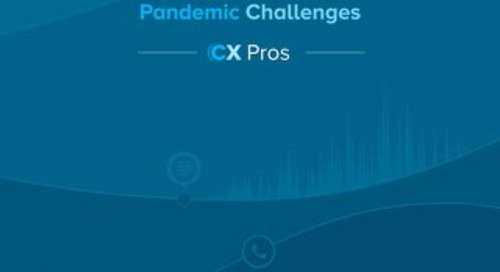 Listening to the Contact Centre to Overcome Pandemic Challenges