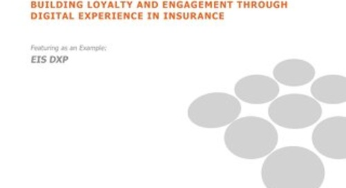 SMA - Building Loyalty and Engagement Thru Digital Experience in Insurance