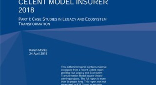 Celent Model Insurer 2018: AIG Canada