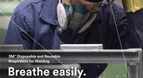 3M™ Disposable and Reusable Respirators for Welding