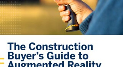 The Construction Buyers Guide to Augmented Reality
