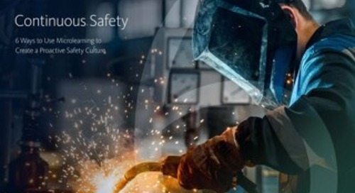 Continuous safety with Microlearning