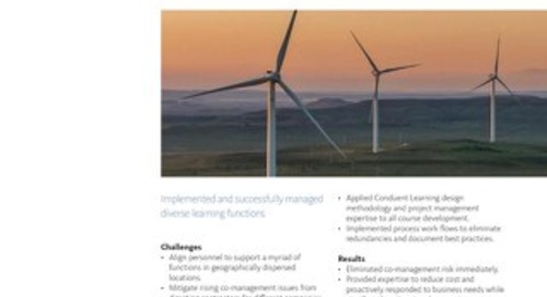 Case Study: Learning Functions for Global Energy Company