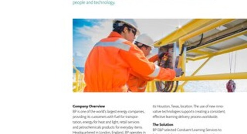 Case Study: BP Learning