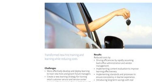 Case Study: Hertz New Hire Training