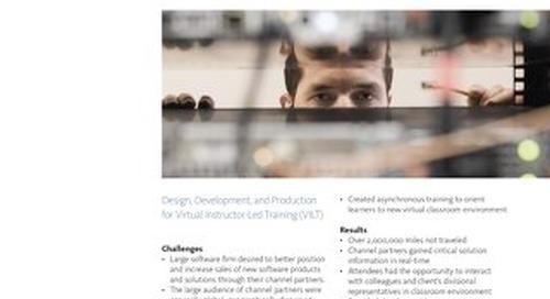 Case Study: Global Software Company VILT