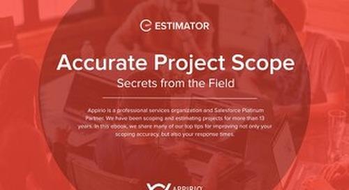 Estimator Guide: Secrets of Accurate Scope