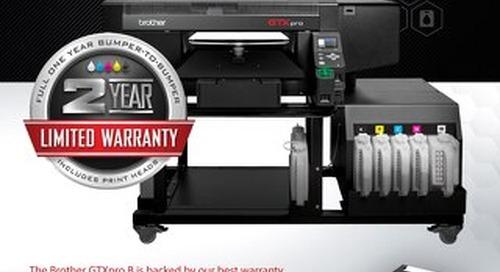 GTXpro B Warranty