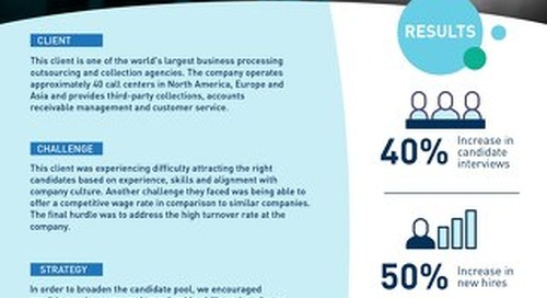 [Recruitment] Reducing Turnover by Sourcing for Culture Fit Case Study