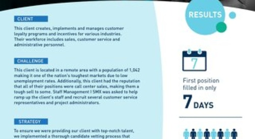 [Recruitment] Thorough Vetting Process Fills Open Position in 7 Days Case Study