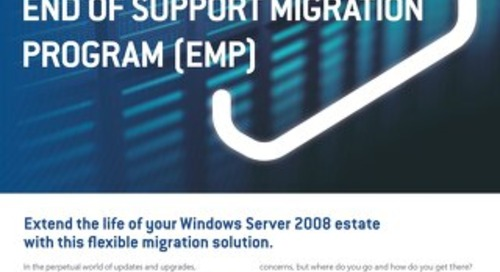 NS:GO Windows Server 2008 End of Support Migration Program Flyer