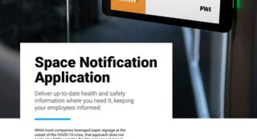 See What's Included in FWI's Space Notification Solution