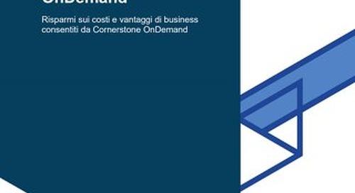 L'impatto economico di Cornerstone OnDemand, di Forrester