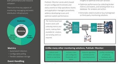 Solace PubSub+ Monitor