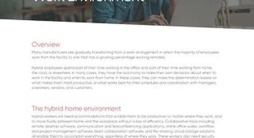 How to Create Hybrid Work Environment