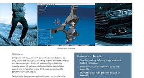 SIMULIA Designsight Structure Datasheet