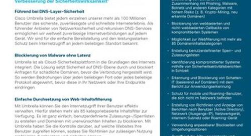 Cisco Umbrella- DNS Security Essentials-Paket