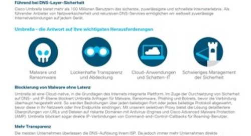 Cisco Umbrella- DNS Security Advantage-Paket
