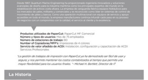 PaperCut Quantum Engineering Case Study en Español