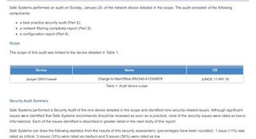 Firewall Audit Report - SANITIZED