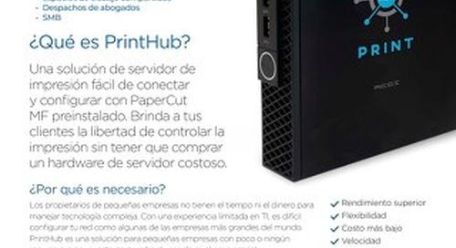 PrintHub Overview en Español