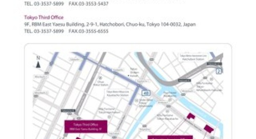 PAREXEL Tokyo office location