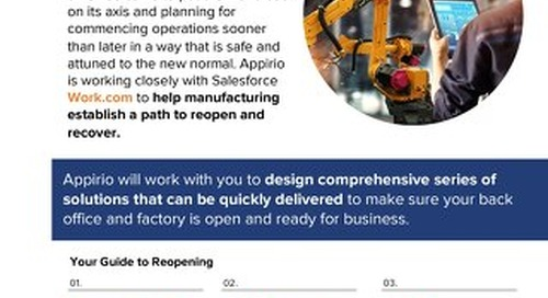 Appirio MFG Reopen and Recover with WORK.com