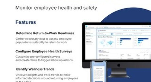 Appirio Employee Wellness Check for WORK.com