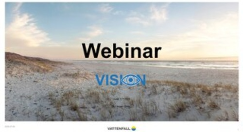 Vattenfal & Snowflake Webinar - June 15th 2020