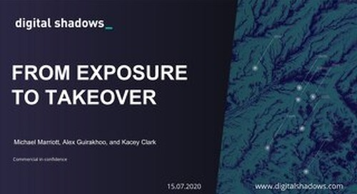 From Exposure to Takeover - Webinar Slides
