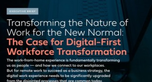 Executive Brief - Transforming the Nature of Work