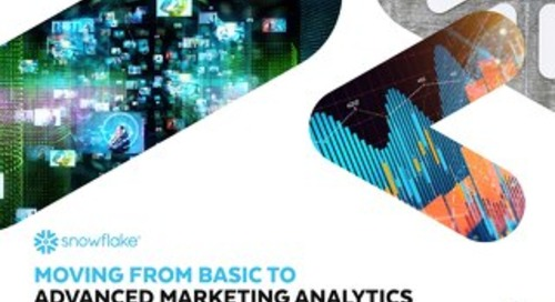 Moving from Basic to Advanced Marketing Analytics