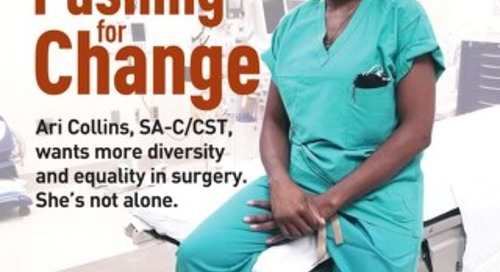Pushing For Change - July 2020 - Subscribe to Outpatient Surgery Magazine